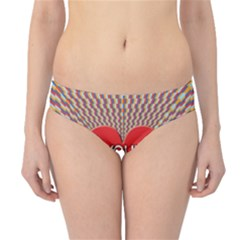 Your Love Moves Me Hipster Bikini Bottoms