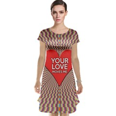 Your Love Moves Me Cap Sleeve Nightdresses