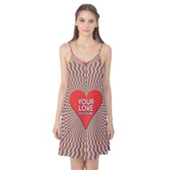 Your Love Moves Me Camis Nightgown