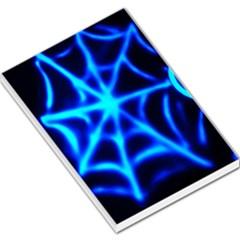 Neon web Large Memo Pads