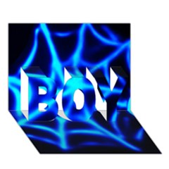 Neon web BOY 3D Greeting Card (7x5)
