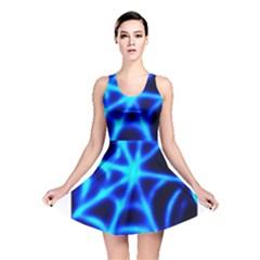 Neon web Reversible Skater Dresses