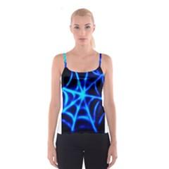 Neon web Spaghetti Strap Tops