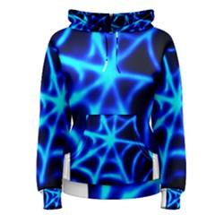 Neon Web Women s Pullover Hoodies