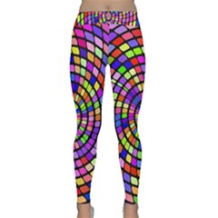 Colorful whirlpool Yoga Leggings