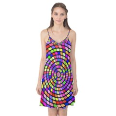 Colorful whirlpool Camis Nightgown
