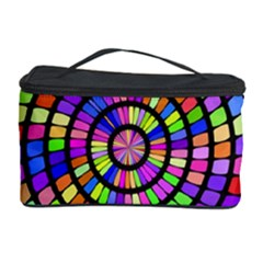 Colorful whirlpool Cosmetic Storage Case