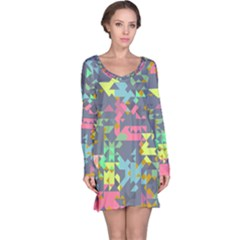 Pastel scattered pieces nightdress