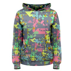 Pastel Scattered Pieces Pullover Hoodie