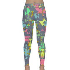 Pastel scattered pieces Yoga Leggings