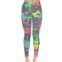 Pastel Scattered Pieces Leggings