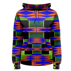 Distorted shapes pattern Pullover Hoodie