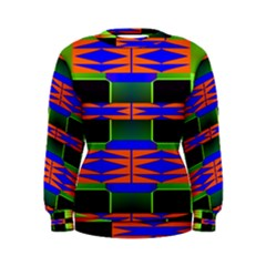 Distorted shapes pattern Sweatshirt