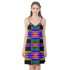 Distorted shapes pattern Camis Nightgown