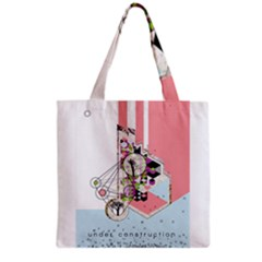 Under Construction Grocery Tote Bags