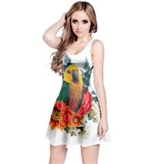 Parrot Reversible Sleeveless Dresses