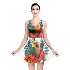 Parrot Reversible Skater Dresses