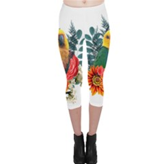 Parrot Capri Leggings