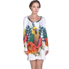 Parrot Long Sleeve Nightdresses