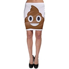 Poop Bodycon Skirts