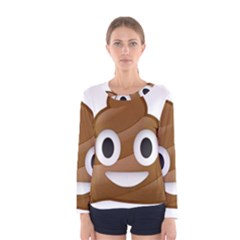 Poop Women s Long Sleeve T-shirts
