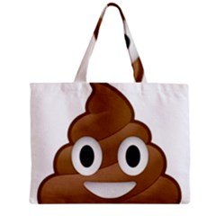 Poop Zipper Tiny Tote Bags