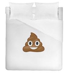 Poop Duvet Cover (full/queen Size)