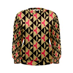 Shapes In Triangles Pattern Sweatshirt