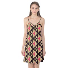 Shapes In Triangles Pattern Camis Nightgown