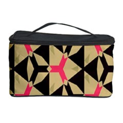 Shapes in triangles pattern Cosmetic Storage Case