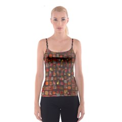 Floating squares Spaghetti Strap Top