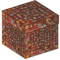 Floating squares Storage Stool