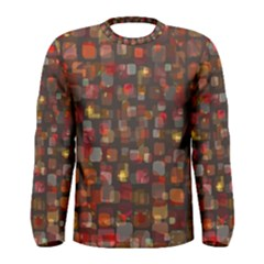 Floating squares Men Long Sleeve T-shirt