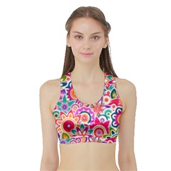 Eden s Garden Women s Sports Bra with Border