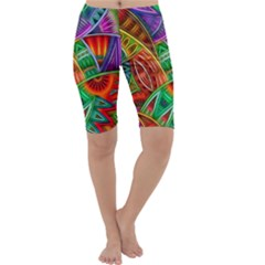 Happy Tribe Cropped Leggings
