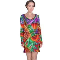 Happy Tribe Long Sleeve Nightdress