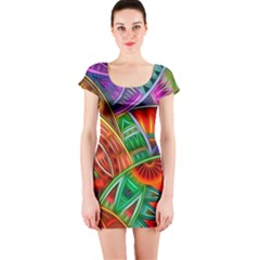 Happy Tribe Short Sleeve Bodycon Dress