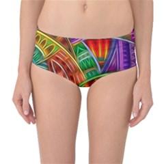 Happy Tribe Mid-Waist Bikini Bottoms