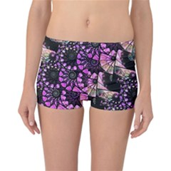 Hippy Fractal Spiral Stacks Reversible Boyleg Bikini Bottoms