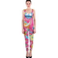 Hippy Peace Swirls Onepiece Catsuit