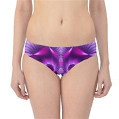 Purple Ecstasy Fractal artwork Hipster Bikini Bottoms