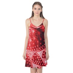 Red Fractal Lace Camis Nightgown