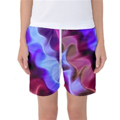 Rippling Satin Women s Basketball Shorts
