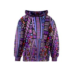 Stained glass tribal pattern Kid s Pullover Hoodie