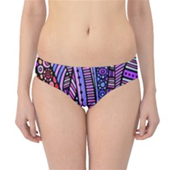 Stained glass tribal pattern Hipster Bikini Bottoms