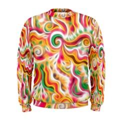 Sunshine Swirls Men s Sweatshirt