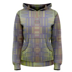 Gradient Rectangles Pullover Hoodie