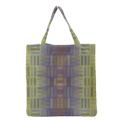 Gradient rectangles Grocery Tote Bag