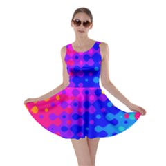 Totally Trippy Hippy Rainbow Skater Dresses