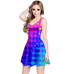 Totally Trippy Hippy Rainbow Reversible Sleeveless Dresses
